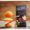 Kép 2/2 - Cachet Ét tábla 57% narancs - mandula 100g