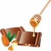 Kép 2/2 - Cachet Tej - mézes mandulás 100g