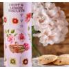 Kép 3/4 - Grandma Wild's Keksz gyümölcsös henger pink 200g