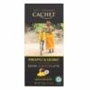 Kép 1/2 - Cachet Ét tábla ananász-kókusz 57% organikus 100g