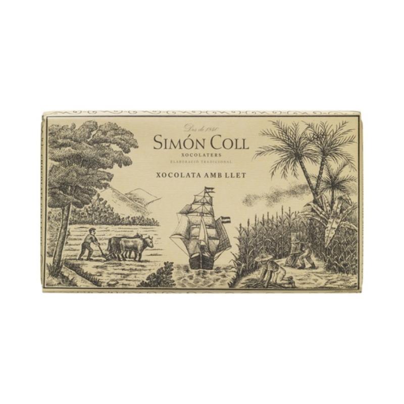 Simon Coll Nagy Tej tábla 200g