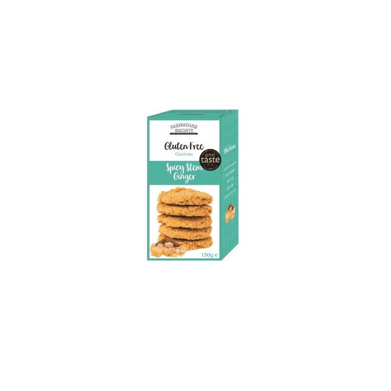 Farmhouse Gluténmentes gyömbéres keksz 150g