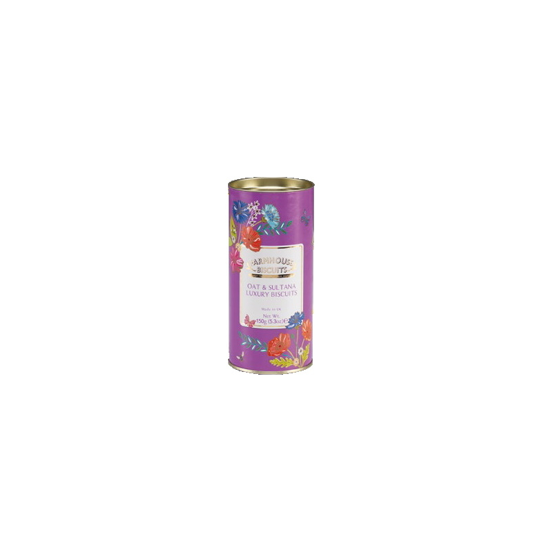 Farmhouse Keksz Virágos lila henger PD 150g
