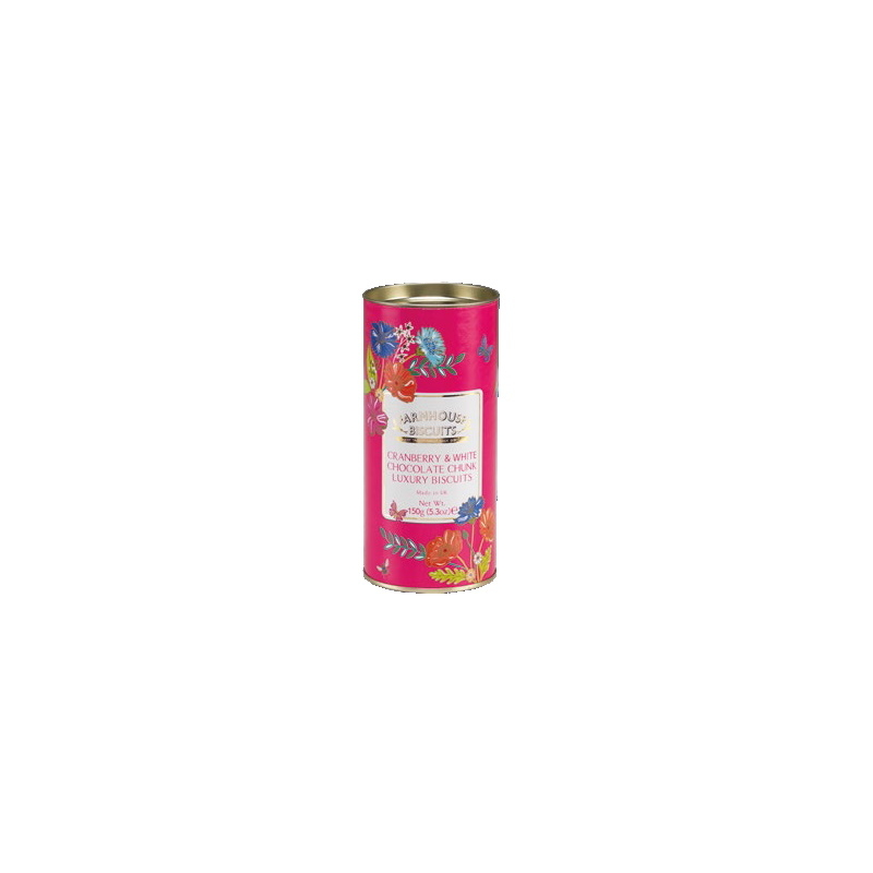 Farmhouse Keksz Virágos pink henger PD 150g