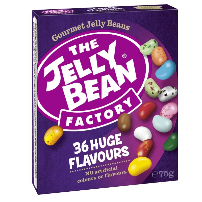 Jelly Bean Doboz 36íz vegyes cukorkák 75g