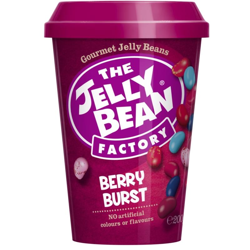 Jelly Bean Kávéspohár erdei gyümölcs Cukorkák 200g