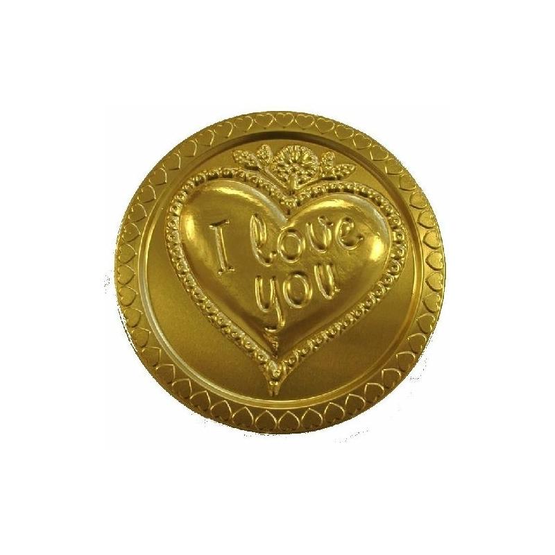 """Steenland Érme""""I Love You""""nyakbaakasztható 58g"""