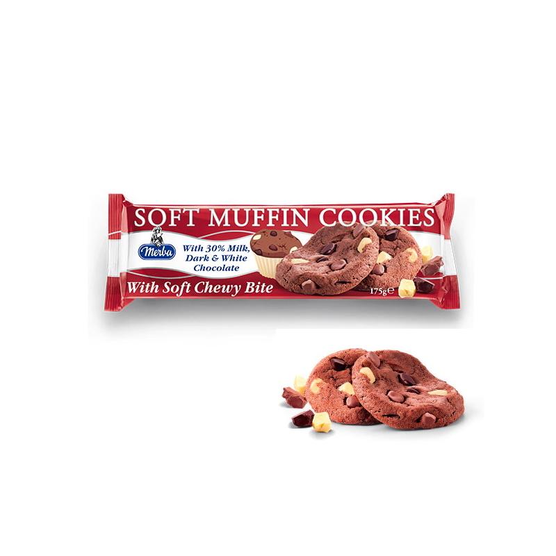 Merba FP puha Triplacsoki Cookies 175g