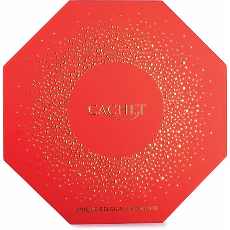 Cachet Vegyes Praliné oktogon 195g