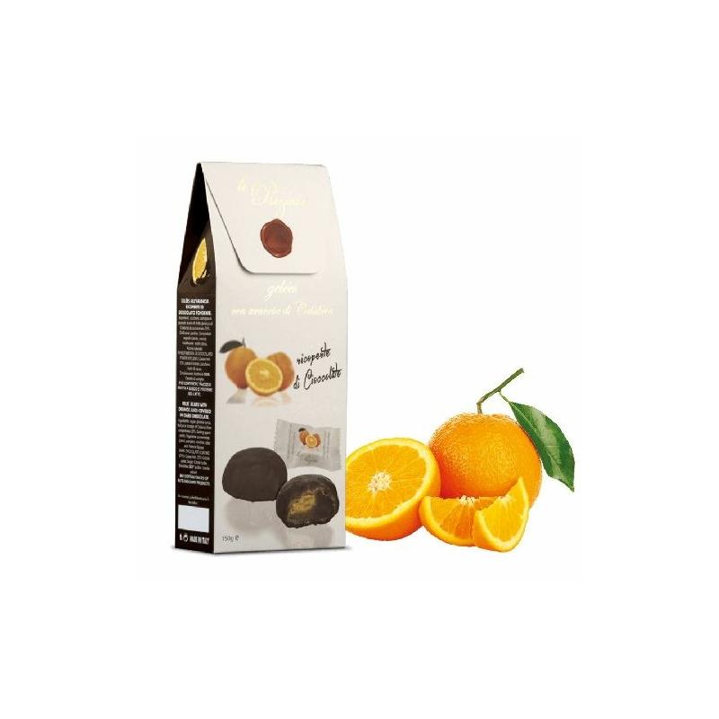 Le Preziose étcsokis narancsos, gyümölcszselé 150g