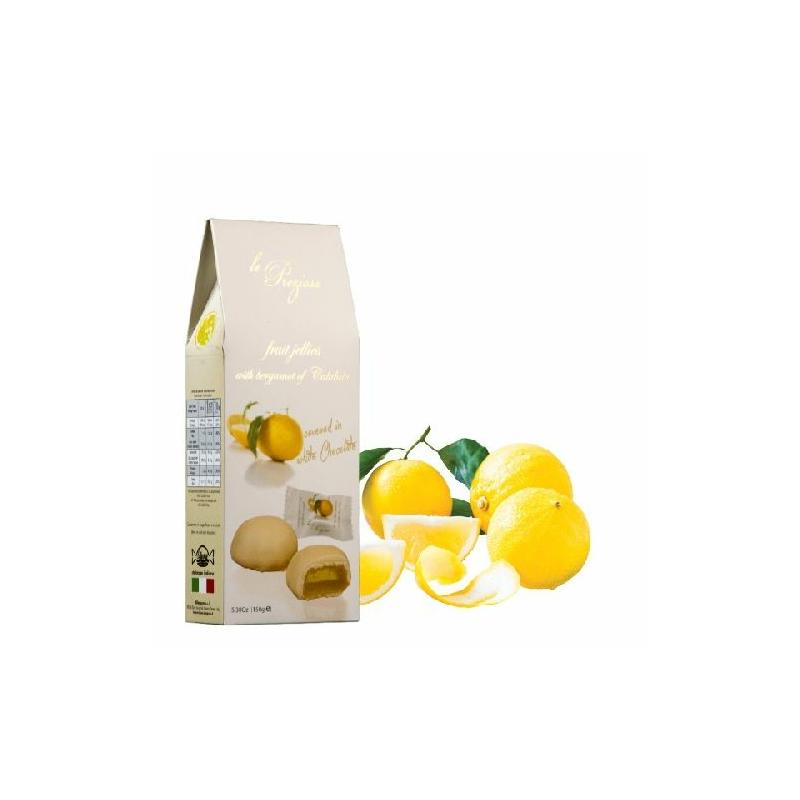 Le Preziose fehércsokis bergamott gyümölcszselé 150g