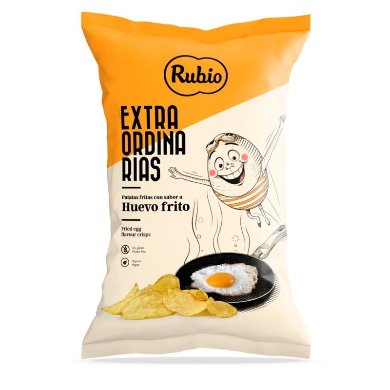Rubio Tükörtojásos chips 115g