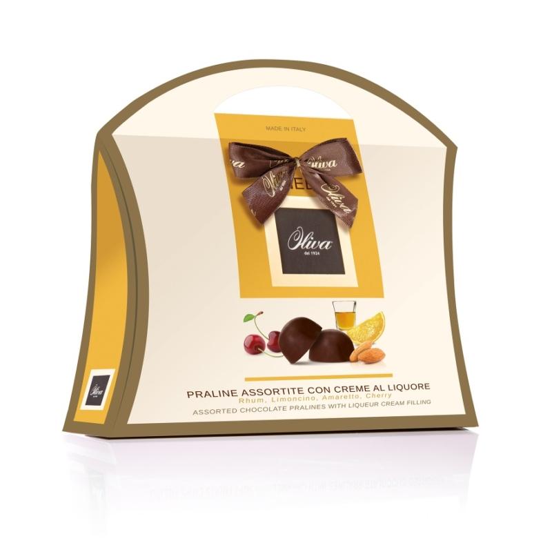 Oliva LULU táska sárga (likőr)150g