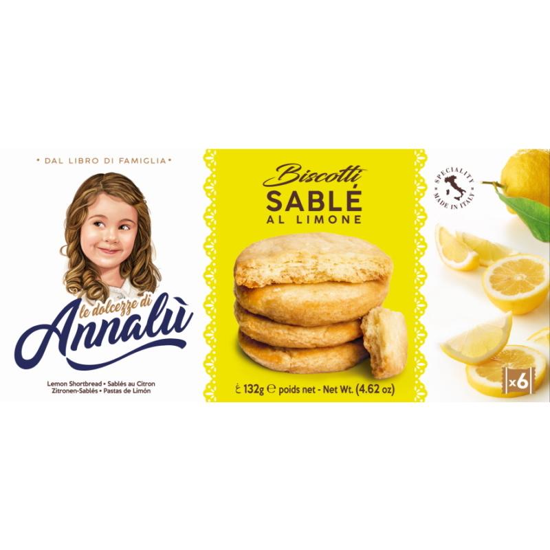 Annalu citromos keksz 132g