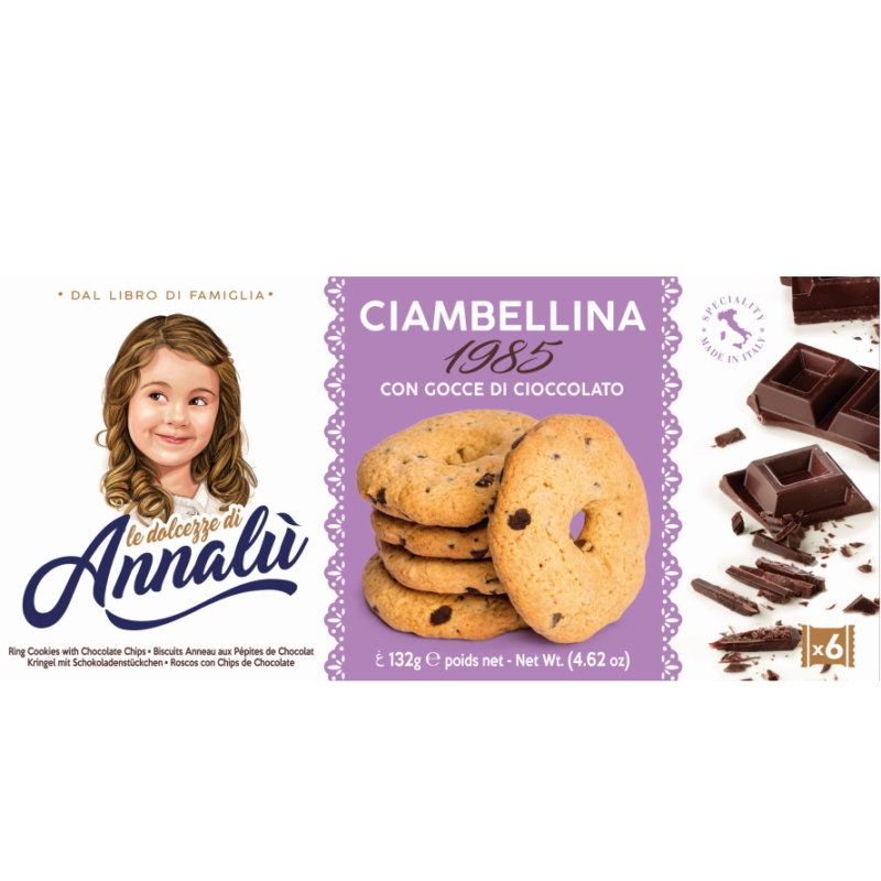 Annalu csoki darabos kekszkarika 132g