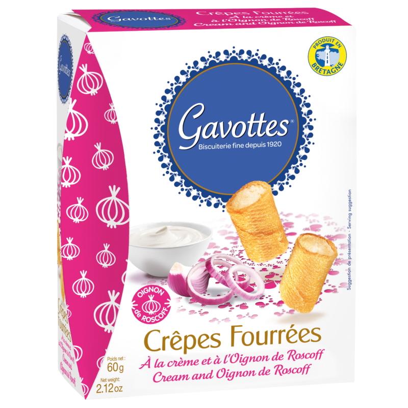Gavottes töltött snack hagyma-krémsajt 60g