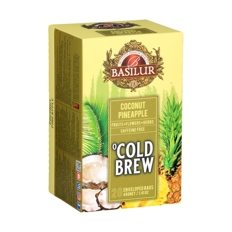 Basilur hideg tea Kókusz-Ananász