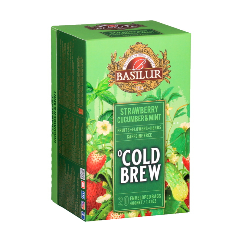 Basilur hideg tea Eper-Uborka-Menta