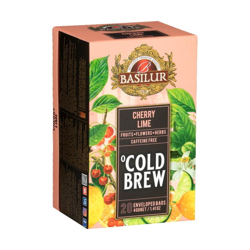 Basilur hideg tea Cseresznye-Lime