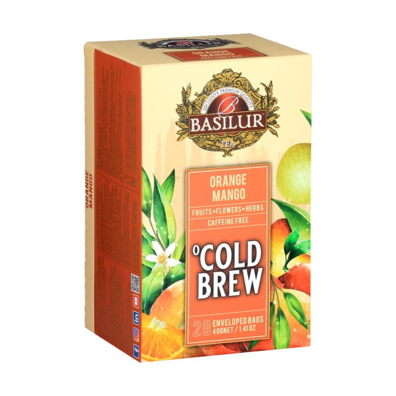 Basilur hideg tea Narancs-Mangó
