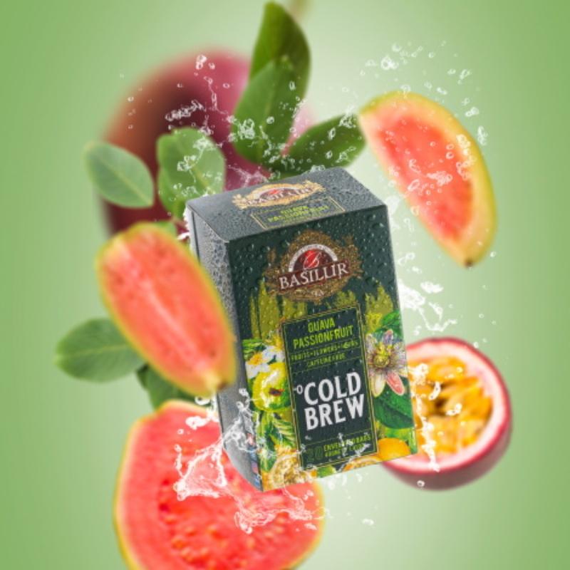 Basilur hideg tea Guava-Maracuja