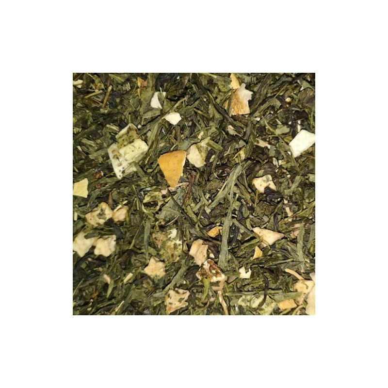 Alma-Kiwi zöld tea 50 gramm