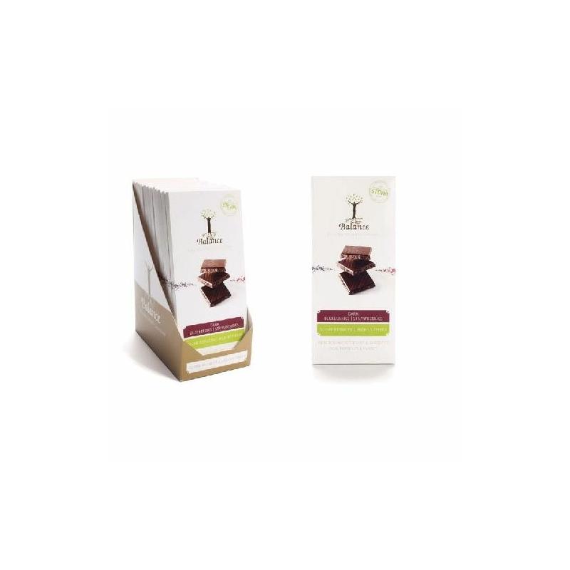 Balance ét-áfonya-eper tábla steviával 85g