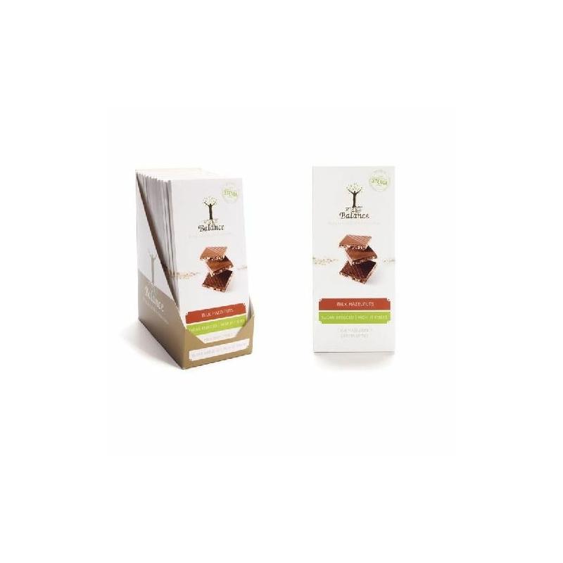 Balance tej-mogyoró tábla steviával 85g