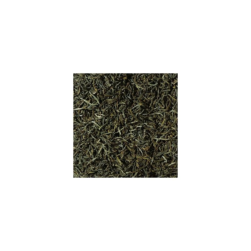 China Yunnan FOP zöld tea 100 gramm