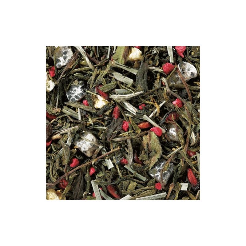 Gránátalma Sárkánygyümölcs zöld és fehér tea 50 gramm