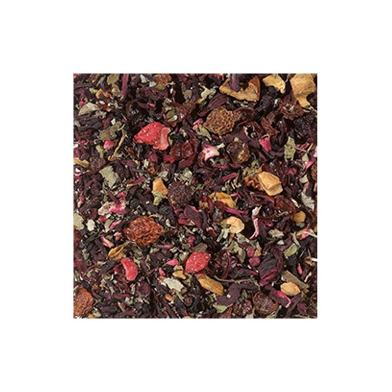 Málna-eper gyümölcs tea 250 gramm