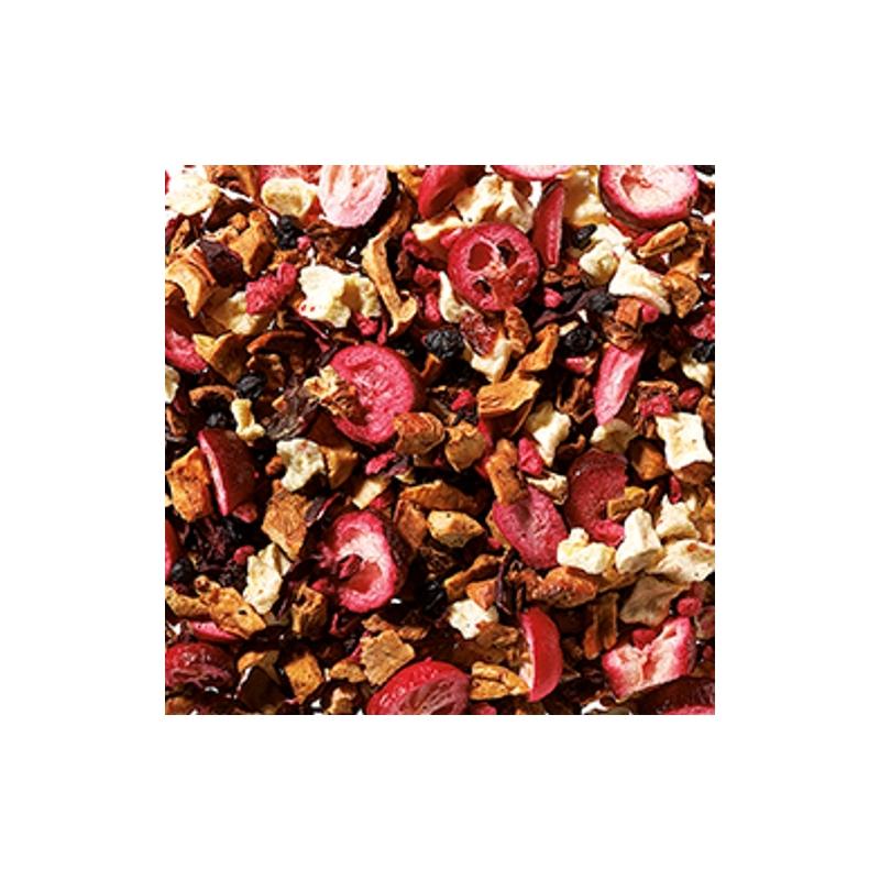 Vörösáfonya-vanília gyümölcs tea 250 gramm