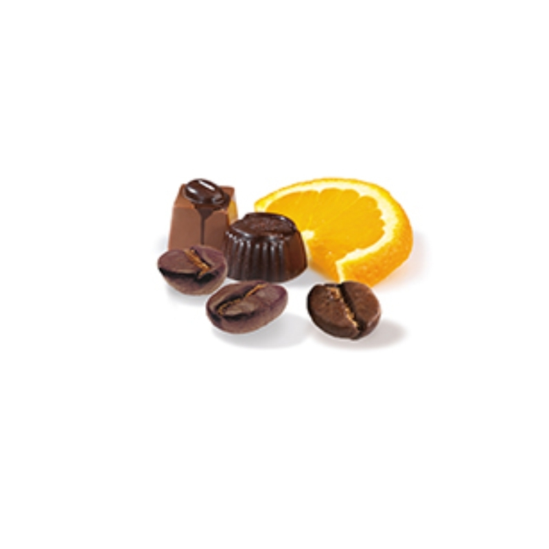Csokoládé-narancs ízesített kávé 250 gramm