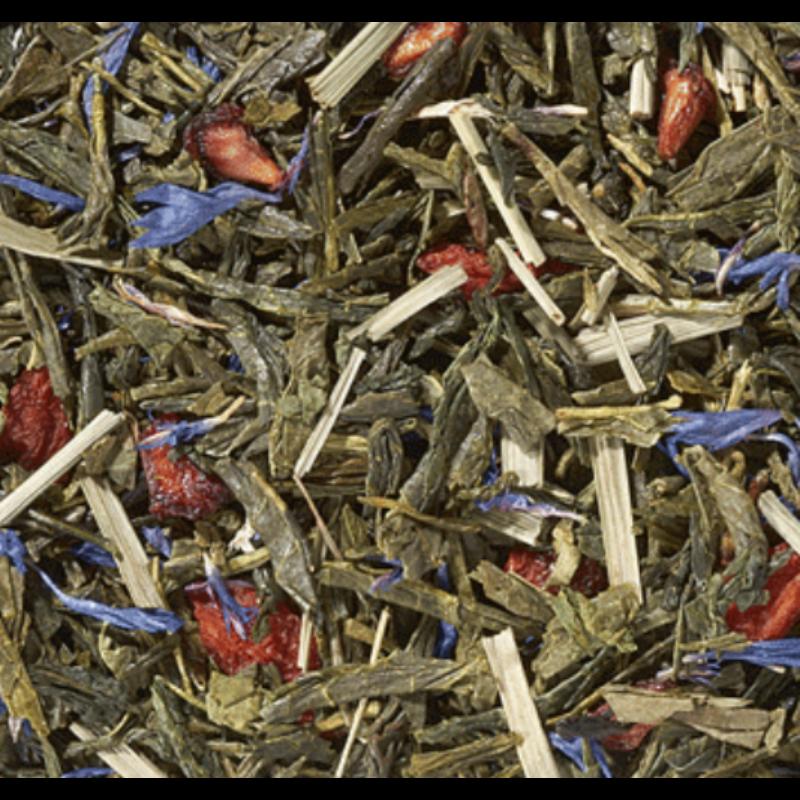 Gránátalma-goji zöld tea 100 gramm