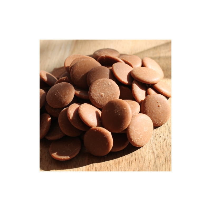 Karamellás csokoládé pasztilla 50 gr