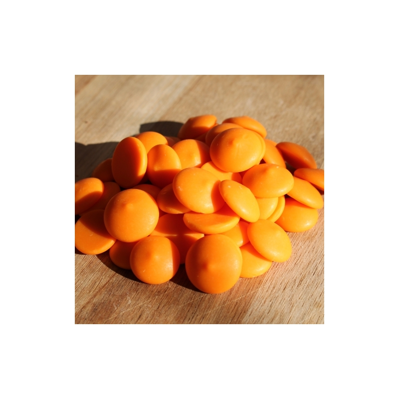 Narancsos csokoládé pasztilla 100 gr
